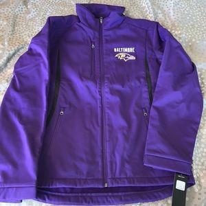 Baltimore Ravens NFL Shell Jacket-NWT